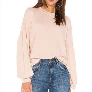 Joie Isae Balloon Puff Sleeve Sweatshirt- Small